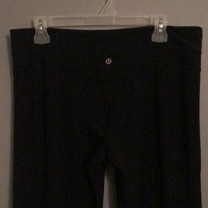 High waisted lululemon yoga pants